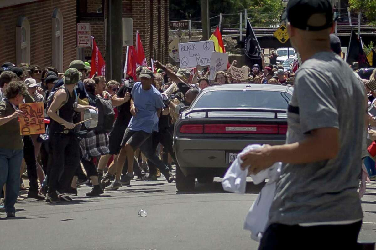 On Saturday, Aug. 12, 2017, white supremacist groups clashed with hundreds of counter-protesters during the