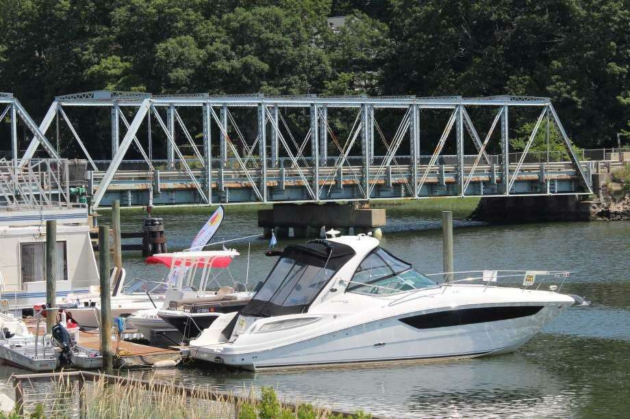 Repairs to the William Cribari Bridge in Westport will require traffic detours that will begin Monday, July 30, 2018 and continue through Sept. 7. Photo: /