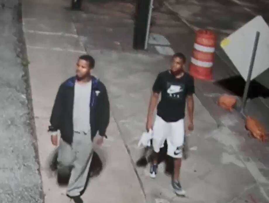 Houston police are searching for several suspects in their late teens who robbed two people sitting in vehicles near a Midtown bar at about 2 a.m. on June 22, 2018. Photo: Houston Police Department