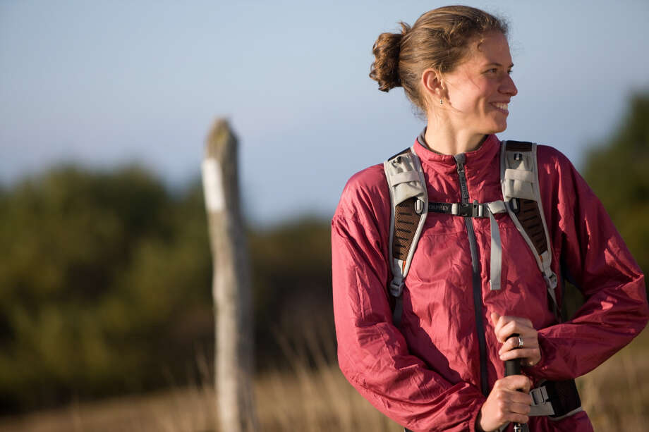 National Geographic 2012 Adventurer of the Year Jennifer Pharr Davis is coming to Grace A. Dow Memorial Library for a 7 p.m. Aug. 2 presentation. Photo: Http://jenniferpharrdavis.com/