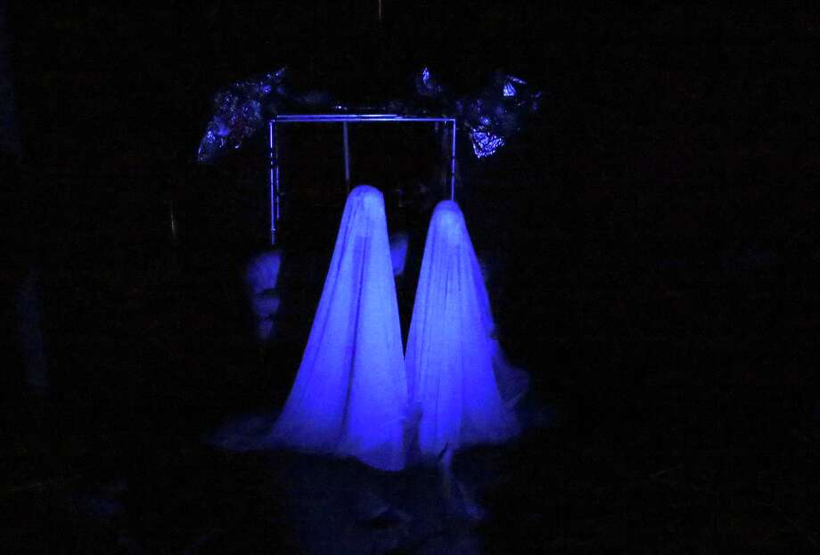 """Ghosts appear in """"Basement Complex Suite 102"""" at Jump-Start Theater. Photo: Tom Reel /San Antonio Express-News / 2017 SAN ANTONIO EXPRESS-NEWS"""