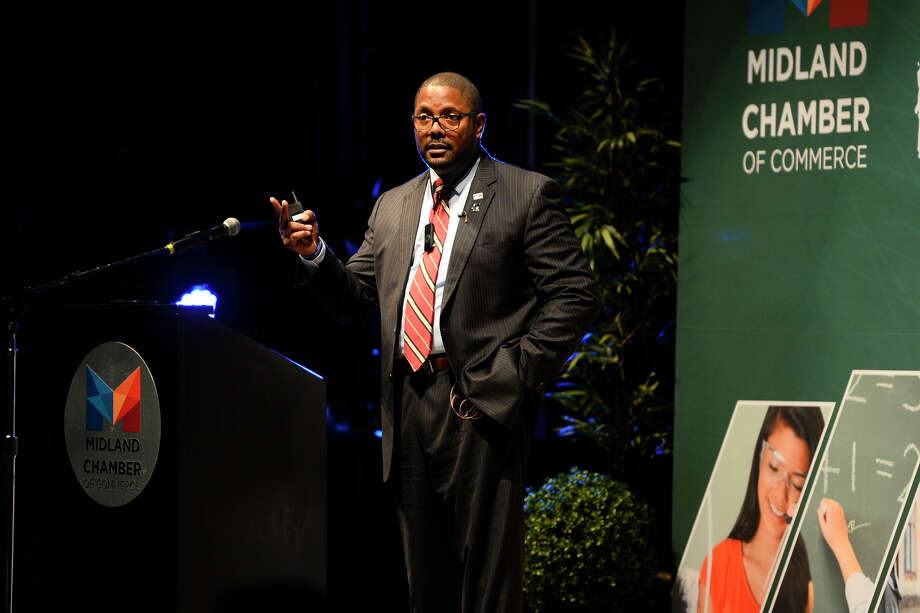 The school district board voted, 7-0, Tuesday on the termination of the contract of Superintendent Orlando Riddick. Photo: MRT File Photo / ? 2018 Midland Reporter-Telegram. All Rights Reserved.