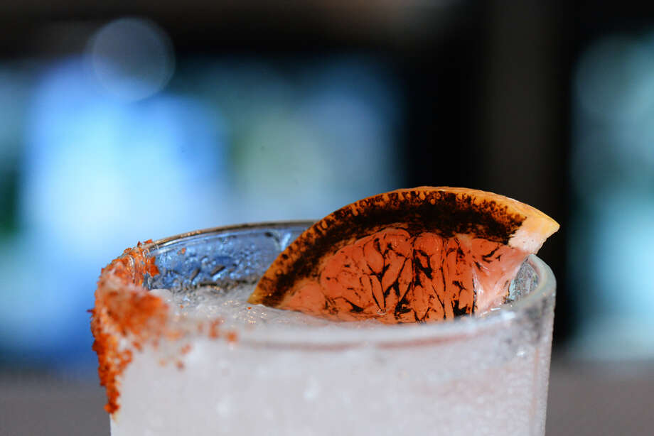 Tobiuo Sushi & Bar in Katy will mark National Tequila Day by serving the new Torched Paloma cocktail made with mezcal, torched grapefruit juice, lime, and lime soda. Photo: Dragana Harris