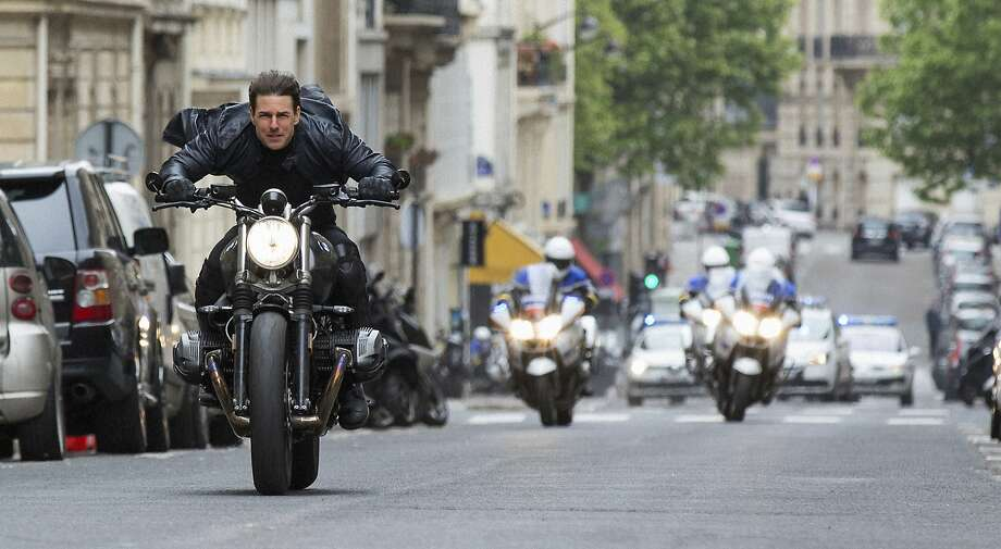 "This image released by Paramount Pictures shows Tom Cruise in a scene from ""Mission: Impossible - Fallout."" (Chiabella James/Paramount Pictures and Skydance via AP) Photo: Chiabella James, Associated Press"