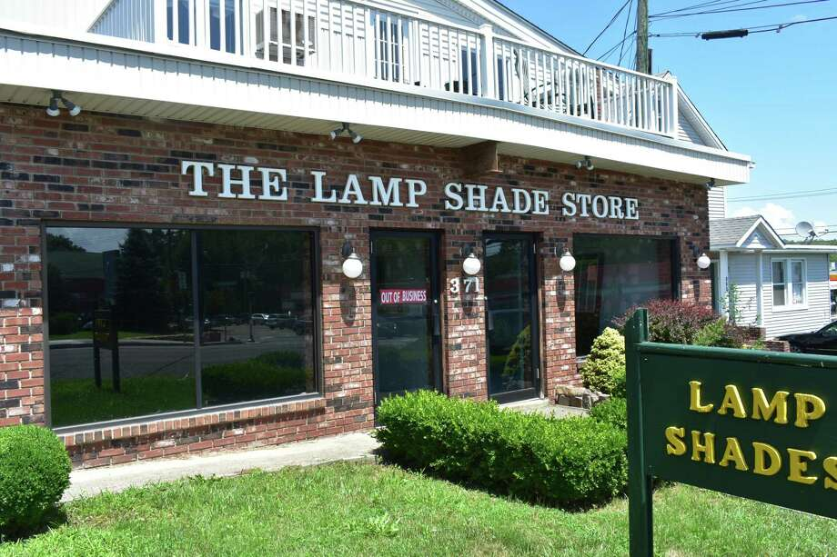 371 Westport Ave. — The lights are out at the Lamp Shade Store after it closed in quiet fashion at 371 Westport Ave. Mike Langton's shop was long a Norwalk mainstay boasting 20,000 lampshades in stock ranging in price from $15 to $150, and offering lamp repair and even production for those wanting a custom lamp. It is the latest retail closure on Westport Avenue that has seen Norwalk lose the likes of David Bridal and Nine West. Photo: Alexander Soule / Hearst Connecticut Media / Stamford Advocate