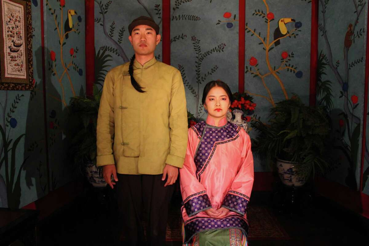 """""""The Chinese Lady"""" at Barrington Stage Companyfeatures Daniel K. Isaac, left, Shannon Tyo."""