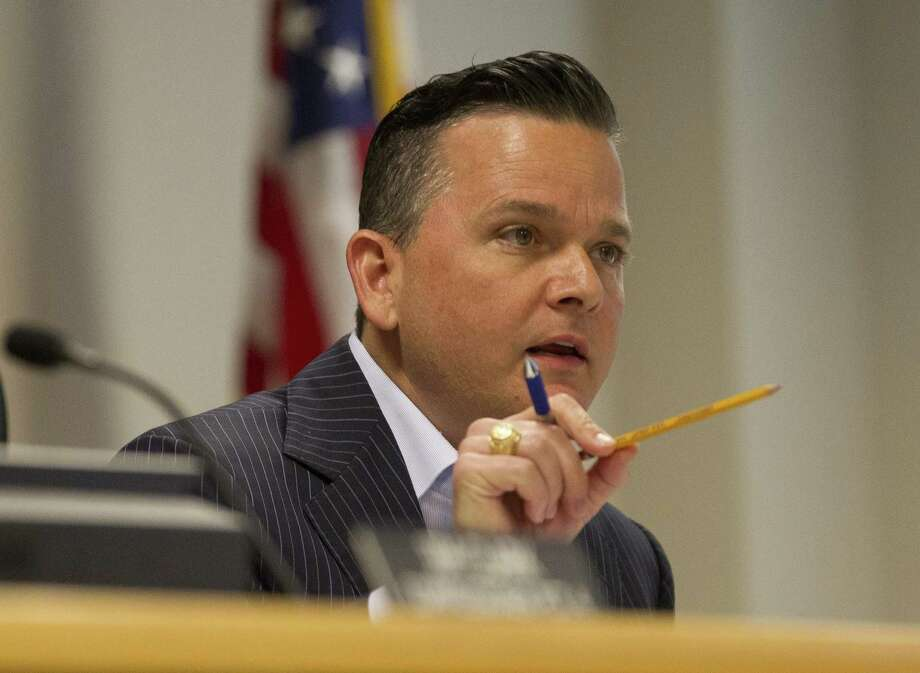 After pushing for answers regarding lifting the tolls on the Texas 242 flyovers, Precinct 3 Commissioner James Noack said Texas Department of Transportation officials have confirmed the county does not need the state's approval to end the tolling. Photo: Jason Fochtman, Staff Photographer / Houston Chronicle / © 2018 Houston Chronicle
