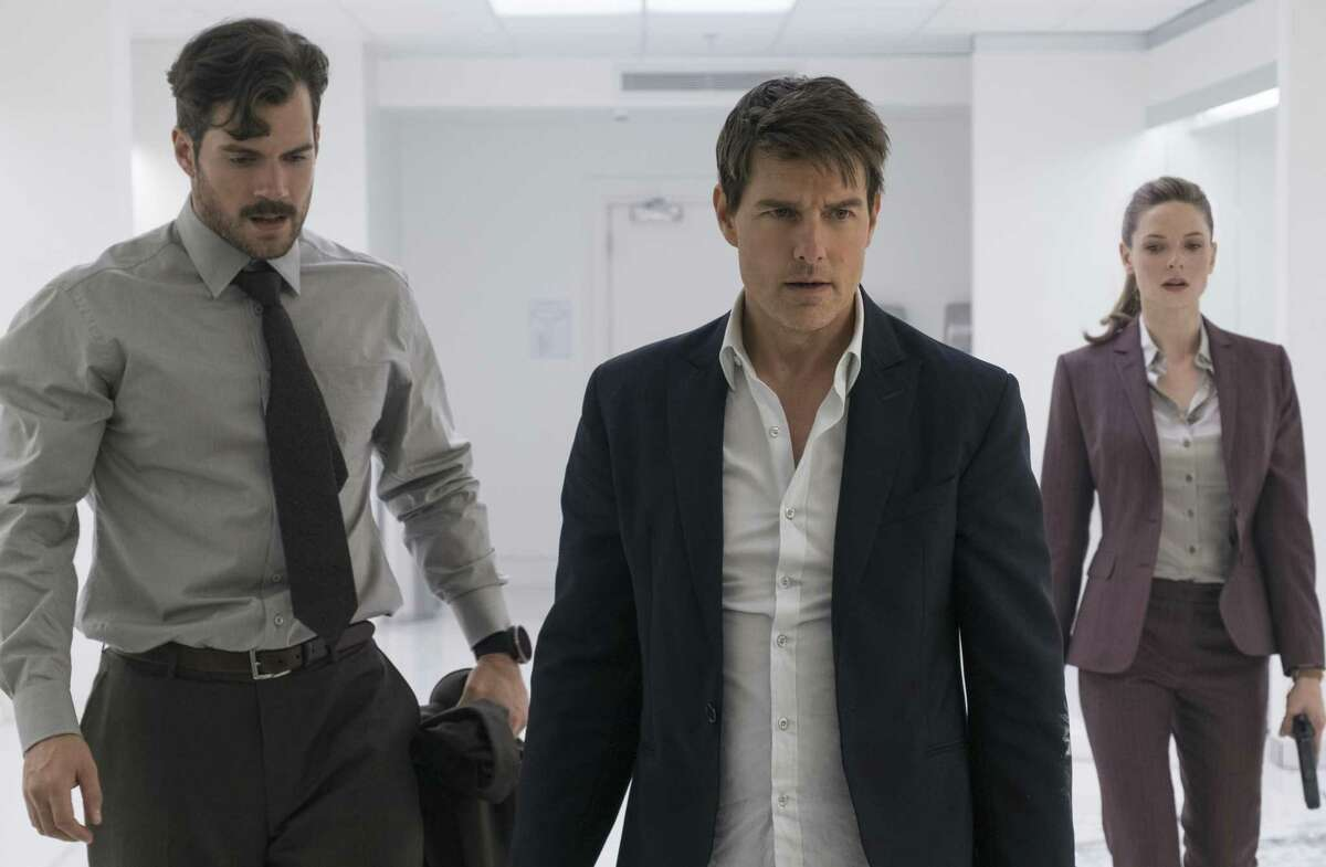 """""""Mission: Impossible - Fallout"""" Tom Cruise jumps back into action in the latest installment in this never-say-die franchise. Christopher McQuarie, who made """"Mission: Impossible - Rogue Nation,"""" is back in the driver's seat, so don't expect many surprises. Ving Rhames, Angela Bassett and Simon Pegg co-star though it's really the effects and stunts that are the real co-stars. Rated PG-13. Playing throughout Houston."""