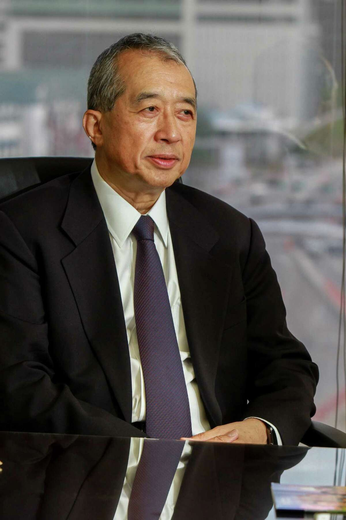 Albert Chao, CEO of Westlake Chemical. The Houston chemical company saw its full-year 2018 profits fall as its feedstock costs jumped and low prices impacted fourth quarter income. NEXT: See earnings from energy companies of interest to the Houston area.