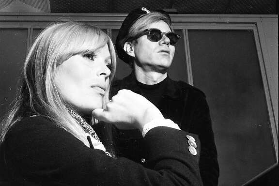 Pop sensation Andy�Warhol�and his show Exploding Plastic Inevitable comes to the Fillmore in San Francisco and cool artists and society folk arrive to check it out May 29, 1966Seen here is�Warhol�and singer Nico who was a part of the show