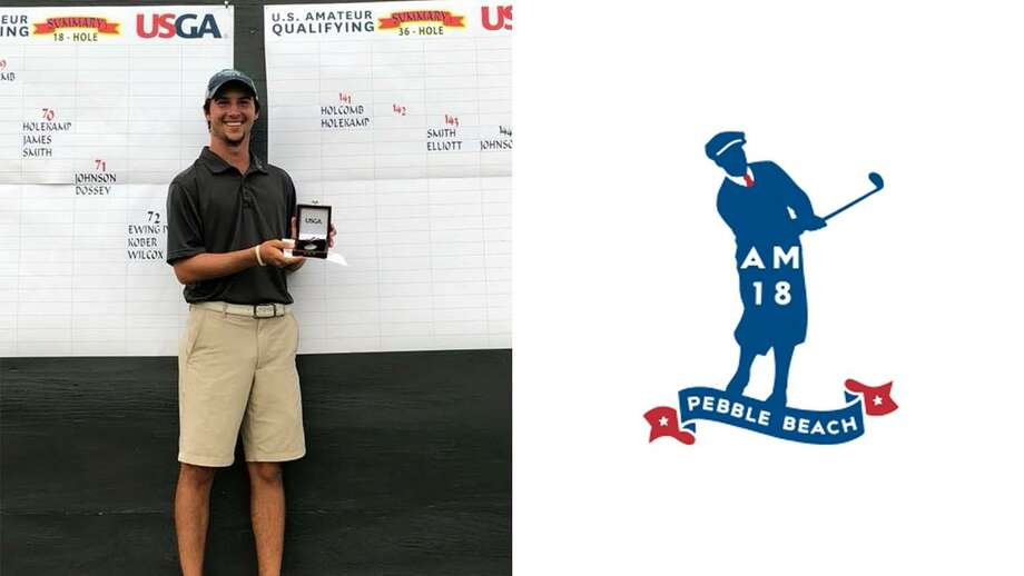 TAMIU junior golfer Parker Holekamp shot a 3-under 141 to tie for first place in a qualifying event and earn a spot in this year's U.S. Amateur. Photo: Courtesy Of TAMIU Athletics