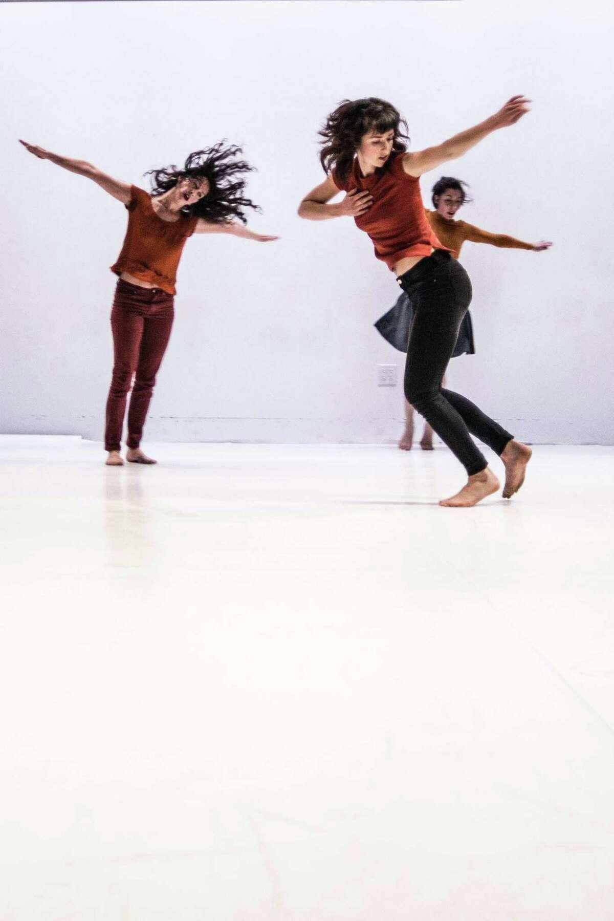 "Katie Faulker's Little Seismic Dance Company will perform Faulkner's new work ""Divining."""