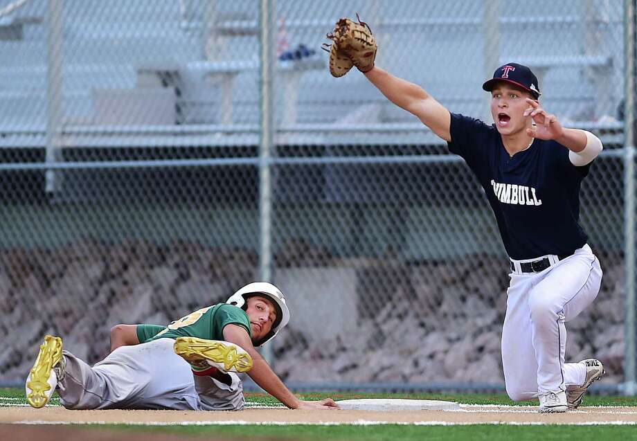 Baseball Trumbull Eliminates Hamden From Senior Legion Tournament