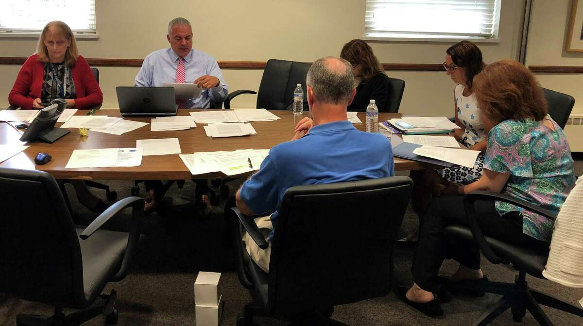 The Westport Board of Education met on July 23 in Town Hall. The board discussed strategies for funding two additional School Resource Officers for the middle schools.