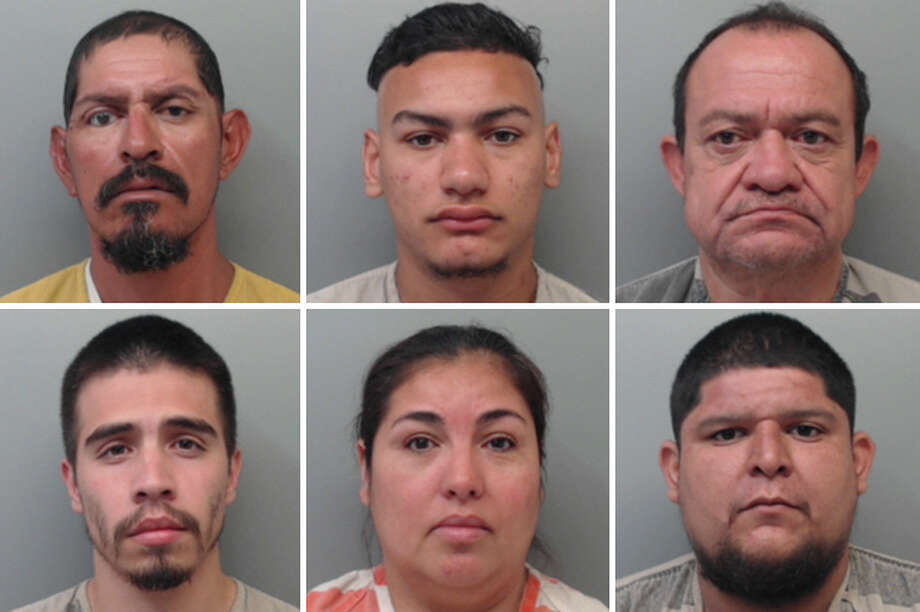 The Webb County Sheriff's Office said Monday that it arrested nine people over the weekend as apart as Operation GOTCHA. Photo: Courtesy