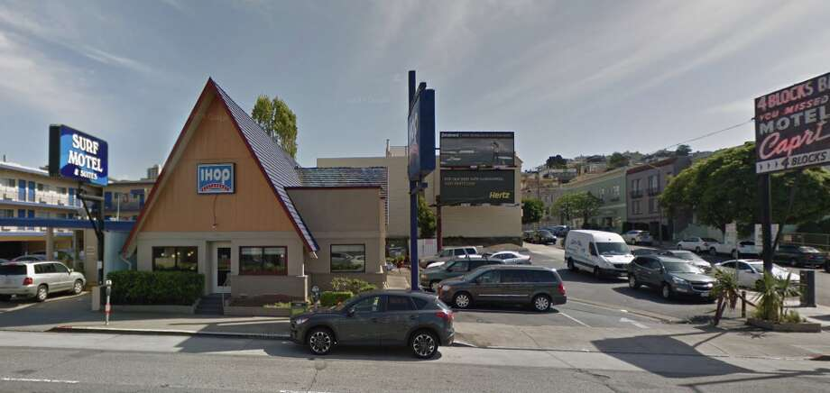 The IHOP on Lombard Street in San Francisco closed in June 2018. Photo: Google Maps Screen Grab