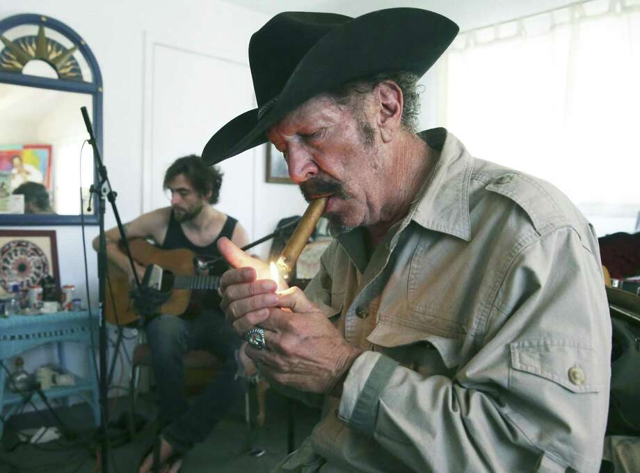 Kinky Friedman recorded his new album at his ranch near Kerrville last summer Photo: Tom Reel /San Antonio Express-News / 2017 SAN ANTONIO EXPRESS-NEWS