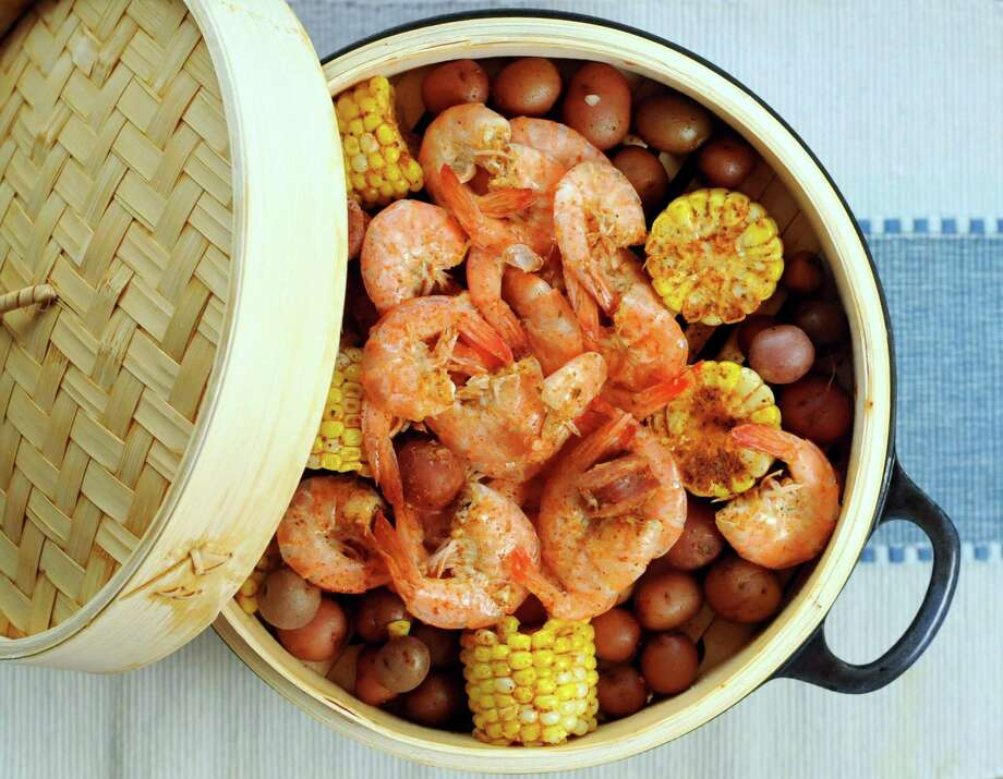 Beer-steamed shrimp boil Photo: Paul Stephen /Staff