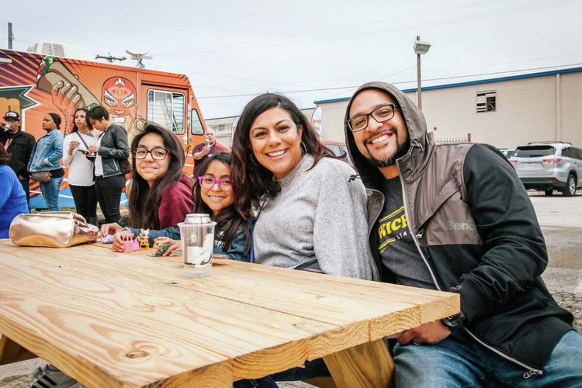 San Antonians gather at the #EssexArt Project's Second Saturday events.