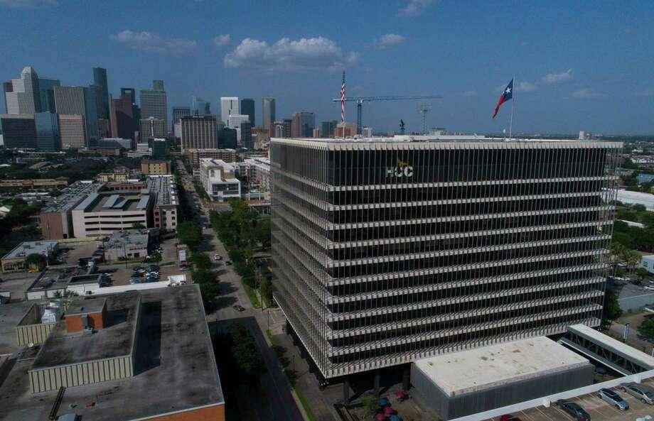 Qatar presented the HCC Foundation with a $300,000 check on Wednesday. Photo: Mark Mulligan, Staff / Houston Chronicle / © 2018 Mark Mulligan Houston Chronicle