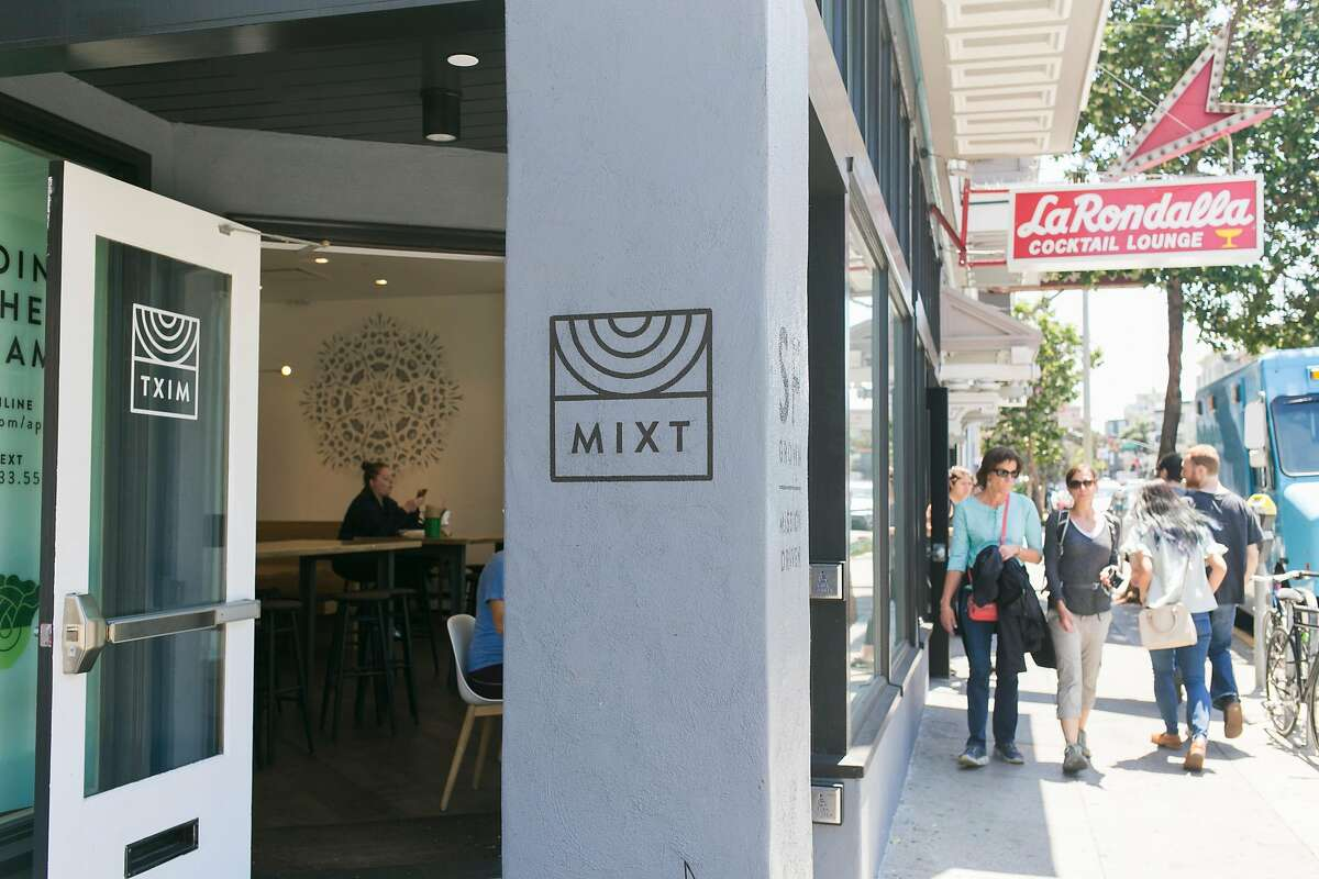 Mixt now occupies the space that used to be La Rondalla Cocktail Lounge on Valencia and 21st Street in San Francisco, Calif.