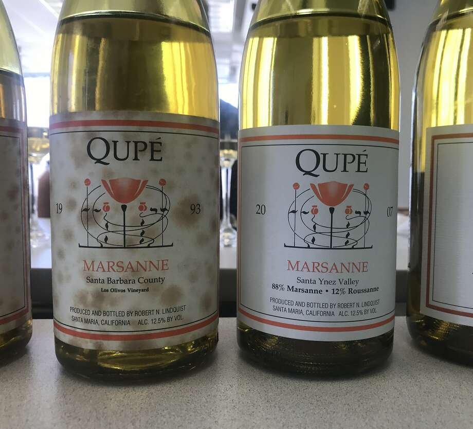 Qupe Marsanne is one of California's most ageworthy white wines. Photo: Esther Mobley / The Chronicle