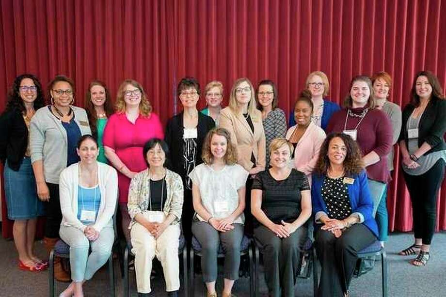 Mid Michigan College representatives represented Michigan's American Council on Education Chapter at a recent Michigan Women's Centers Consortium. (Photo provided)