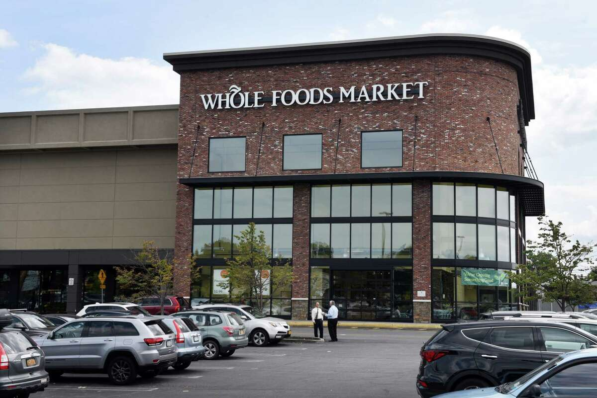 Whole Foods Market at Colonie Center will donate a percentage of Thursday's sales to the local United Way chapter. (Will Waldron/Times Union)