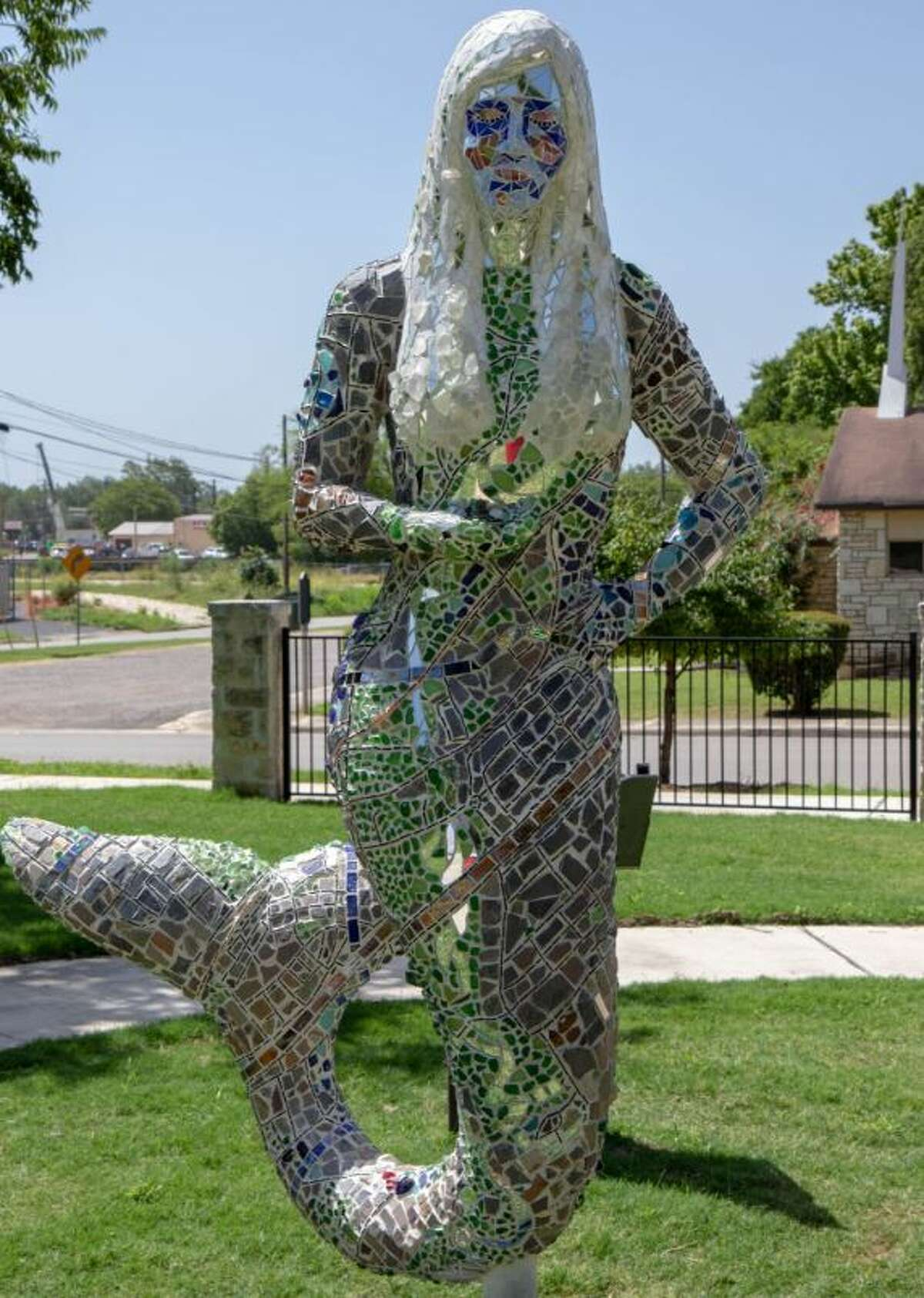 San Marcos has installed 10 mermaid statues in a nod to the city's history and an attempt to promote tourism. This is Mermaid Map.