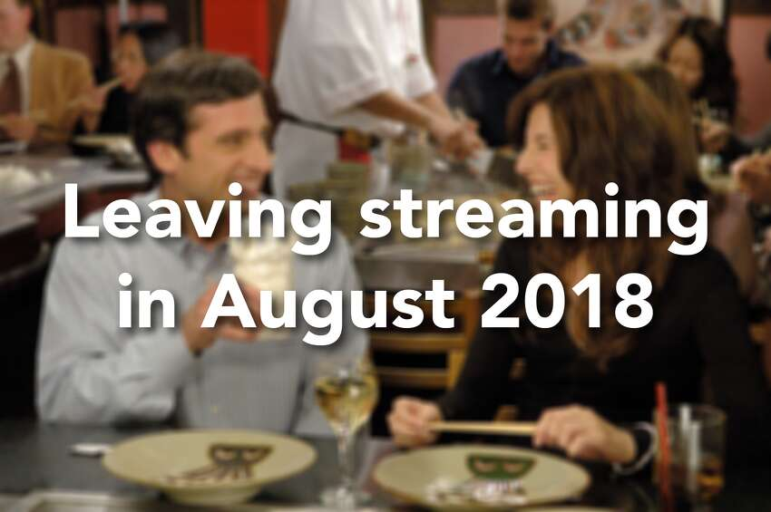 Here's what is leaving streaming services in August 2018.