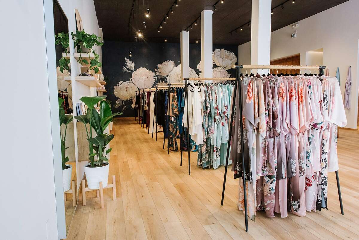 Kim+Ono, the new handcrafted kimono store in Chinatown (729 Grant Ave.), gives a street style interpretation to the Asian-inspired sensual wear-at-home robes. It was founded by sisters Renee and Tiffany Tam, whose family has been making kimonos under the Old Shanghai label for many years.