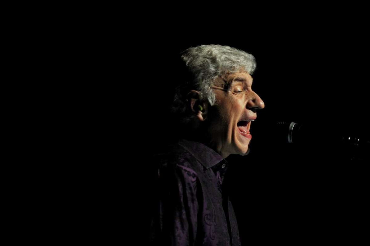 Dennis DeYoung sings during Wednesday Nite Live inside the Palace Theatre on Atlantic St. in downtown Stamford, Conn. on Wednesday, July 25, 2018.