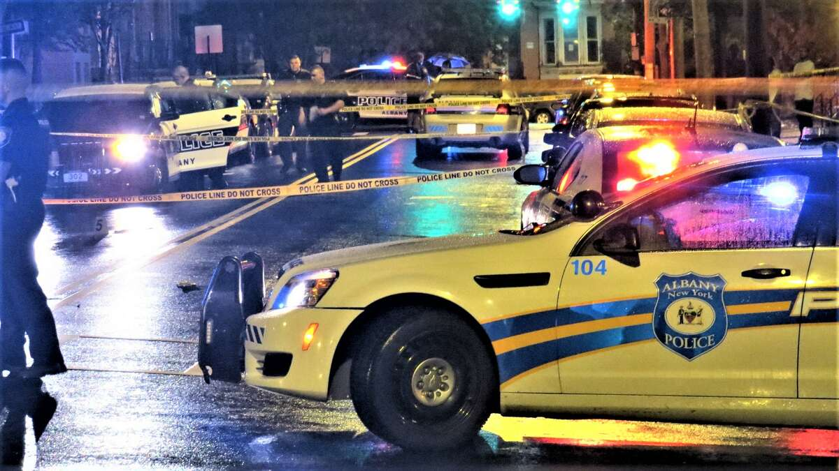 Late Wednesday night, Albany police investigate the city's ninth homicide of the year. Police describe the killing at a home on Lark Street and Sheridan Avenue as a domestic dispute.