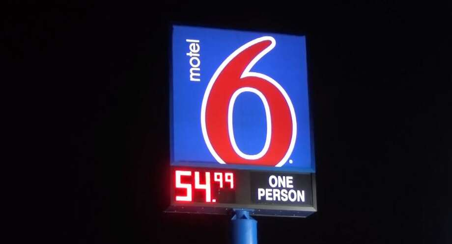 File photo of a Motel 6 sign. Photo: Metro Video