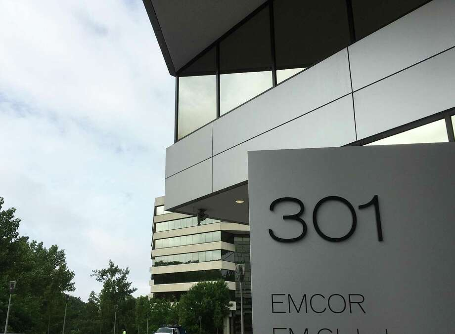 Emcor headquarters at 301 Merritt 7 in Norwalk, Conn. Photo: Alexander Soule / Hearst Connecticut Media / Stamford Advocate