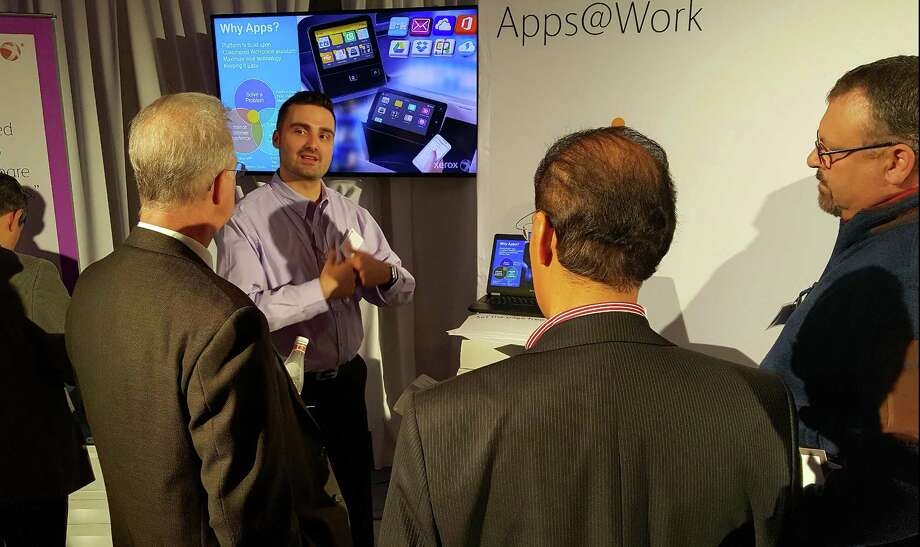 Xerox channel partners at the Norwalk, Conn.-based company's Future of Work forum in 2017. Photo: Photo Courtesy Xerox.