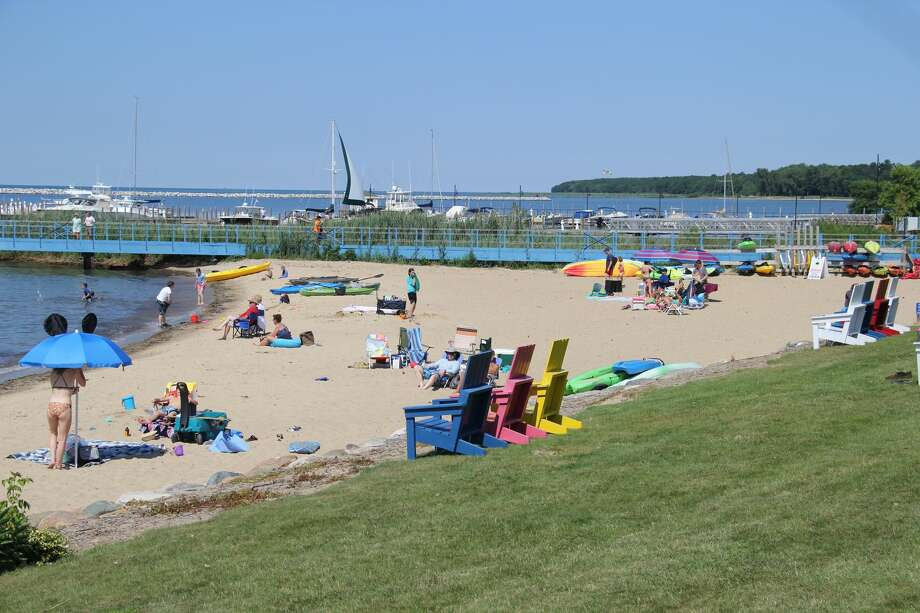 Scenes this week from beaches at Harbor Beach City Park, Bird Creek County Park and Veteran's Village Park, as well as stops at Stafford County Park, Lighthouse County Park and the Eagle kayak launch area. Photo: Seth Stapleton/Huron Daily Tribune