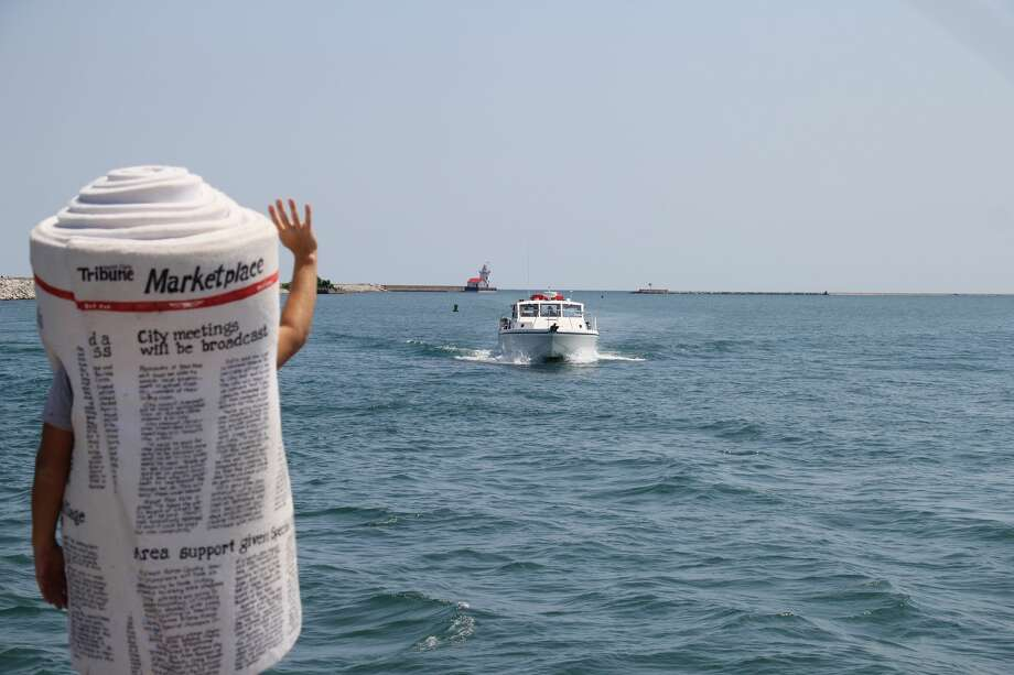 Dale E. Tribune was enjoying the beautiful views of Lake Huron at the Harbor Beach Marina this week. Email editor Kate Hessling at khessling@hearstnp.com locations where you'd like to see Dale next! Photo: Seth Stapleton/Huron Daily Tribune