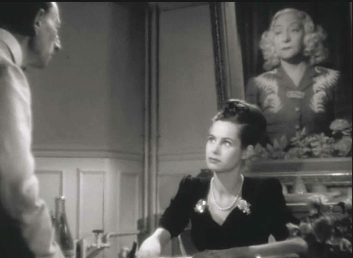 """The intense actress Andrée Clément plays a Parisian innkeeper's daughter in the 1946 film """"The Back Streets of Paris."""""""