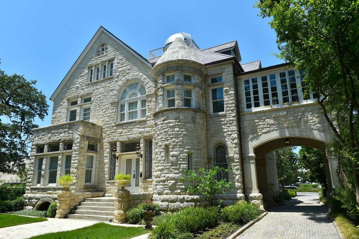 The restored Maverick Carter House.