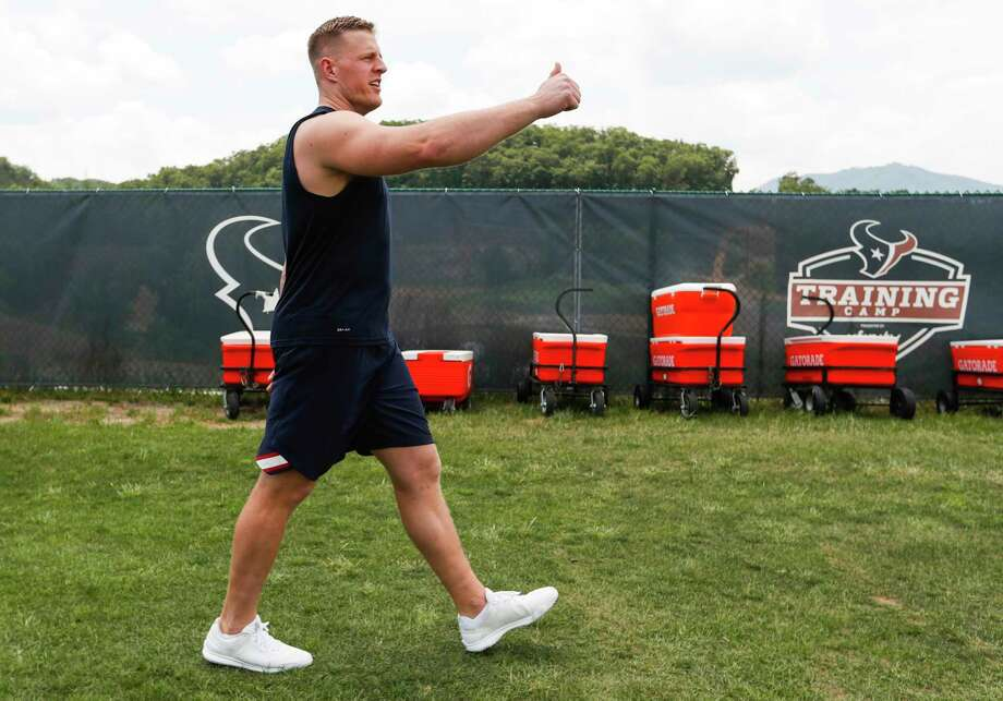 PHOTOS: The first day of Texans training camp