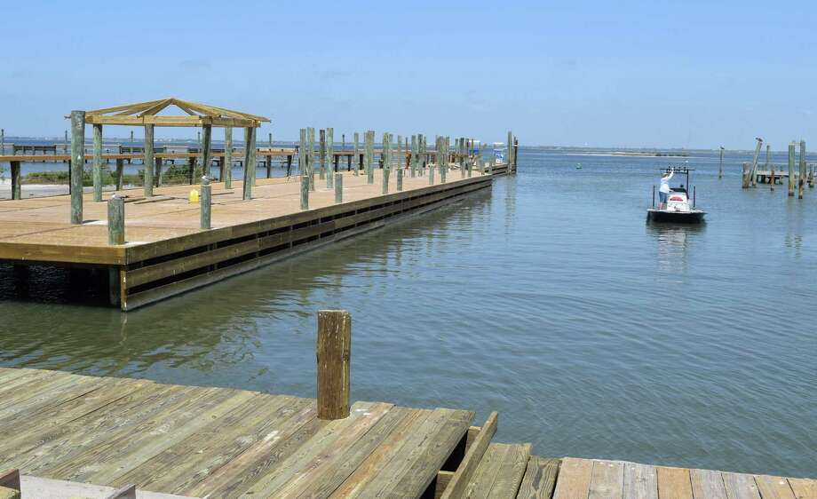 A new dock featuring a gazebo is among the many updates to the Marker 37 Marina that began in January when the facility was taken over and scheduled for a major makeover by MK Developments based in Austin Photo: Ralph Winingham /Contributor