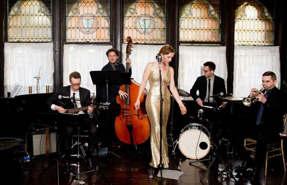 Eden Lane, a New York City jazz band with an affinity for the Great American Songbook, will perform a free concert at 5:30 p.m. Saturday, July 29, at the Seaside Garden at Greenwich Point. Anchored by redheaded songbird Stephanie Layton, Eden Lane combines rare vintage gems with fresh takes on 1940s classics. Photo: Contributed Photo / Contributed Photo / Connecticut Post Contributed