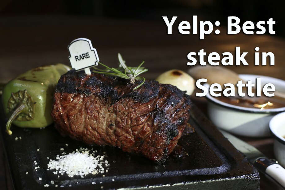 We asked Yelp where their users think they can get the best steak in the city. From steakhouses to sandwiches, they have feelings. See what they are here and check if you agree. Photo: Yelp