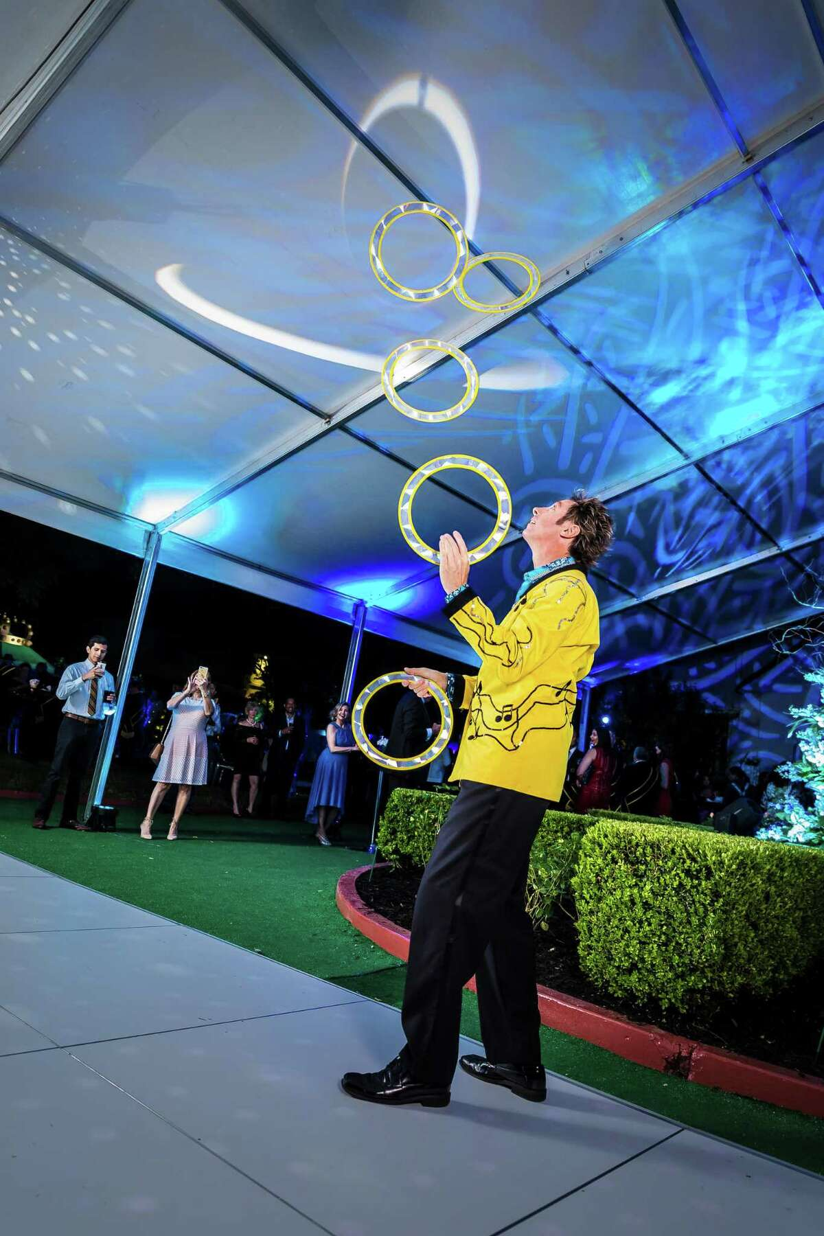 According to Sara Walker Private Events, clients with high-end parties crave specialty entertainment, such as jugglers, stilt walkers and magicians.