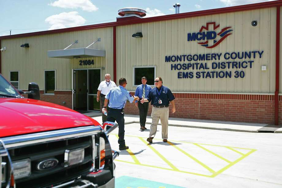 The Montgomery County Hospital District's EMS station 30 in New Caney. Photo: Staff Photo By Karl Anderson / Staff photo by Karl Anderson