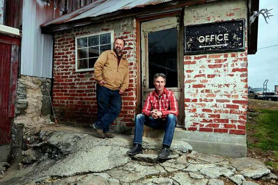 Frank Fritz and Mike Wolfe, hosts of American Pickers, are headed to Michigan in September in search of treasures. (Submitted Photo)