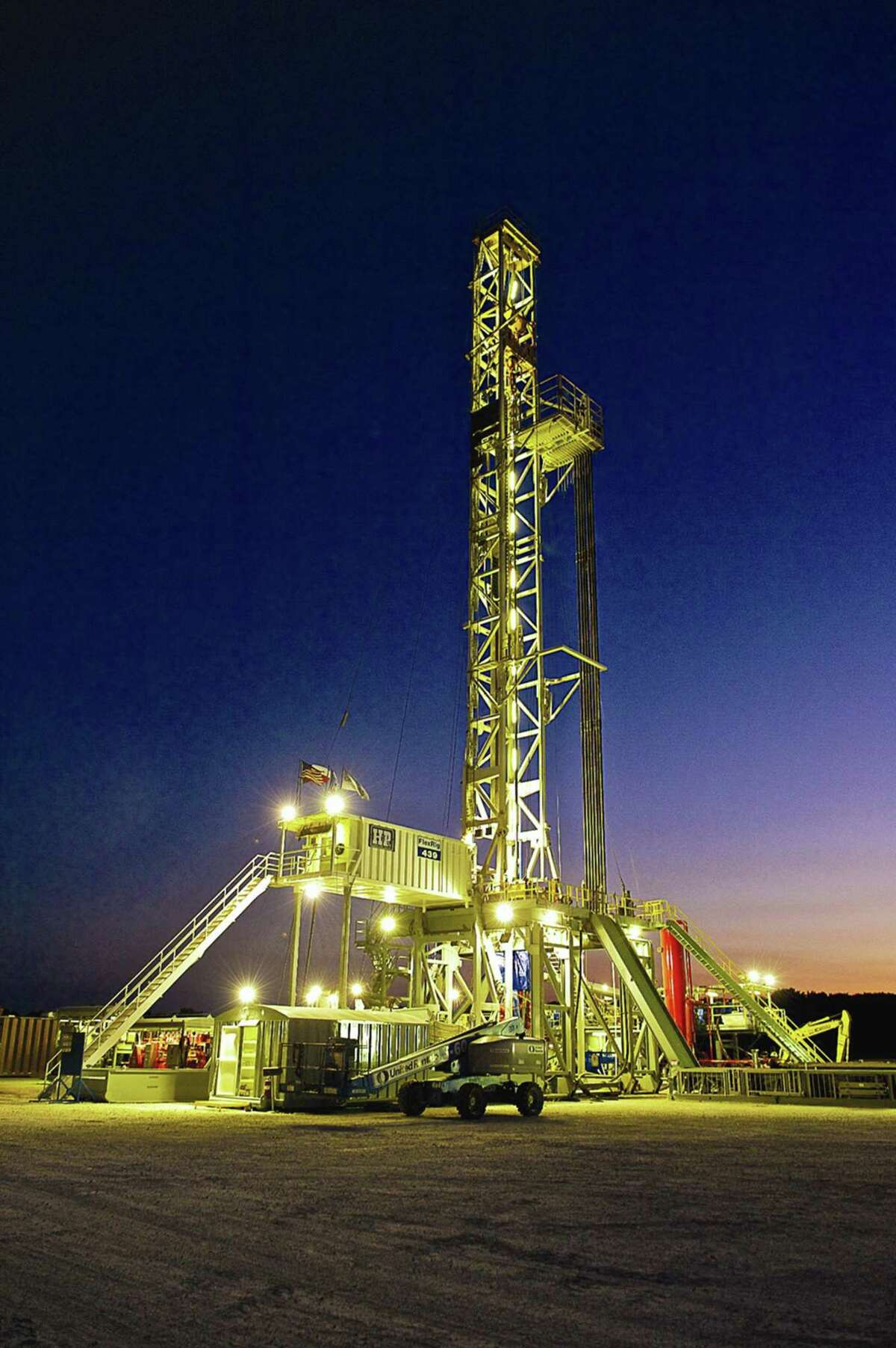 A rig in the Eagle Ford play of South Texas.