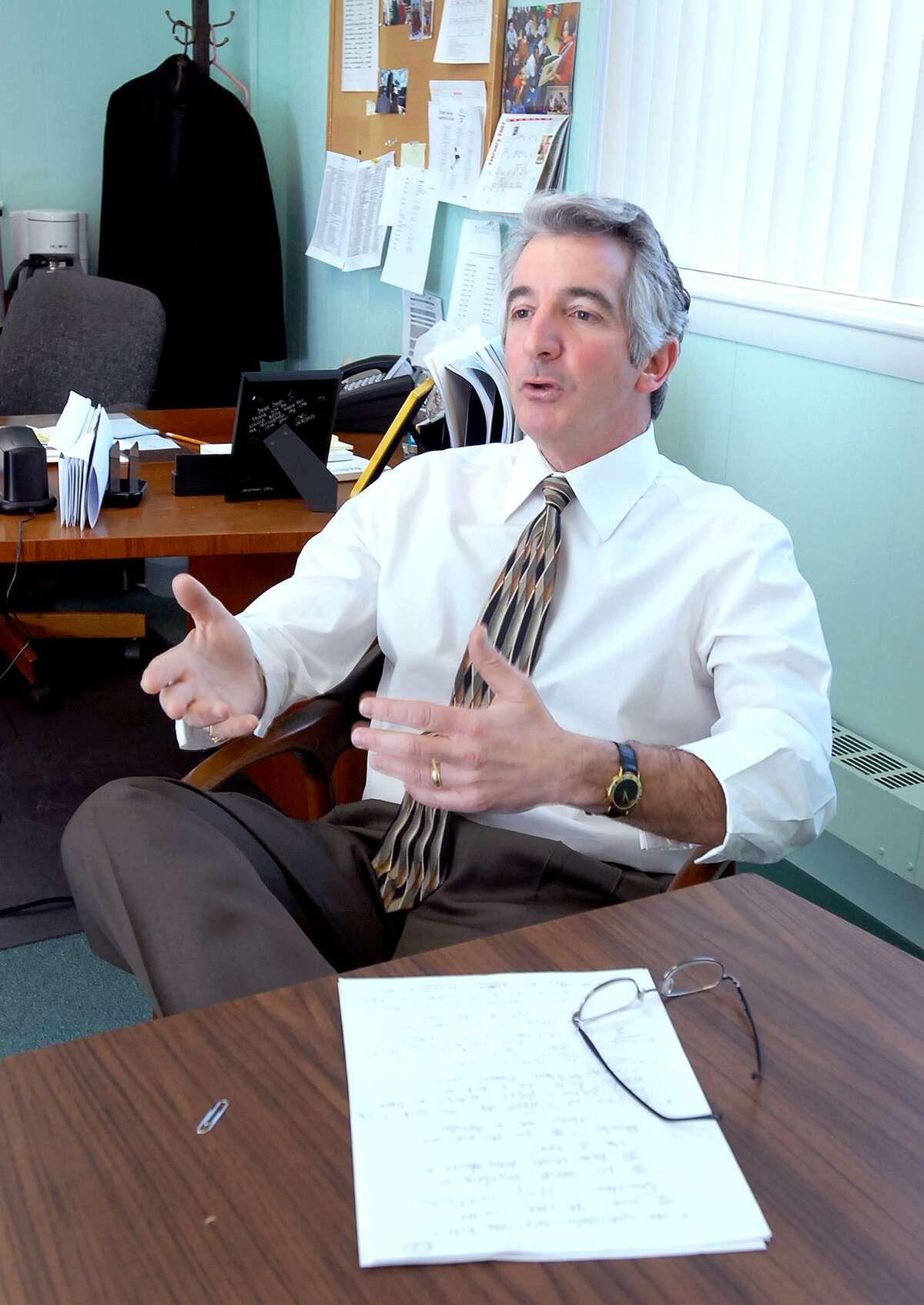 David Cicarella, president of the New Haven Federation of Teachers.
