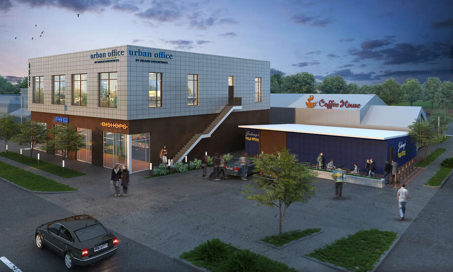 Braun Enterprises Is Redeveloping 2522 Yale With Retail And Office Space.  The 2nd Floor,